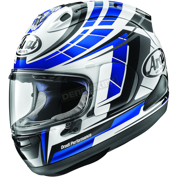 Arai Helmets Blue Corsair-X Planet Helmet - 807652