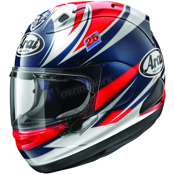 Arai Helmets Red/White/Blue Corsair-X Vinales Helmet - 814653