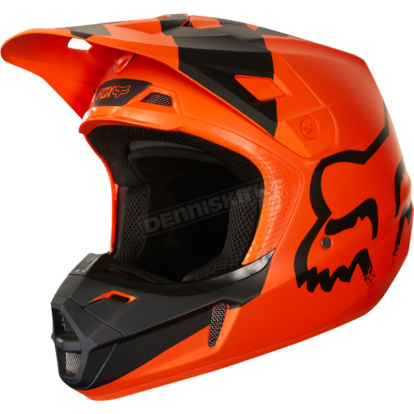 Fox Orange V2 Mastar Helmet - 19529-009-XL