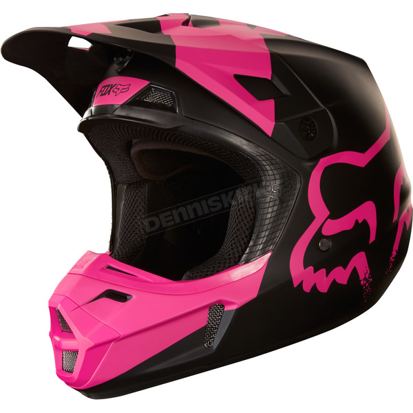 Fox Black V2 Mastar Helmet - 19529-001-L