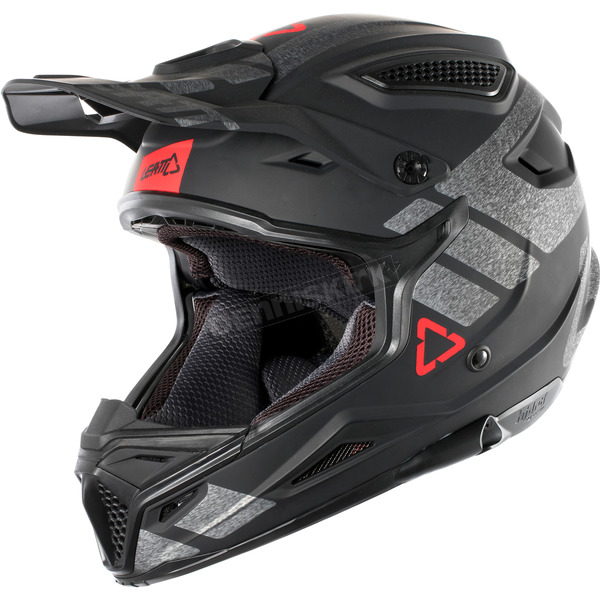 Leatt Black/Brushed GPX 4.5 V24 Helmet - 1018200230