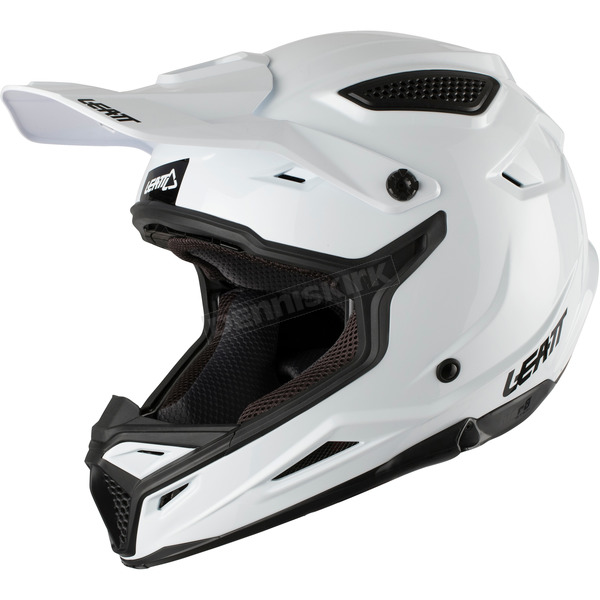 Leatt Solid White GPX 4.5 Helmet - 1017110563