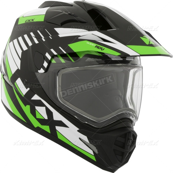 CKX Green Quest RSV Rocket Snow Helmet - 508513#