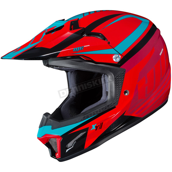 HJC Youth Red/Blue CL-XY II Bator MC-1 Helmet - 294-914