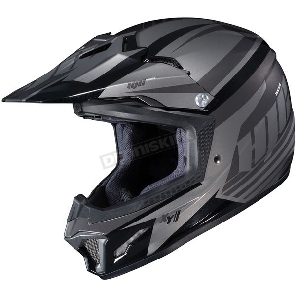 HJC Youth Gray/Black CL-XY II Bator MC-5 Helmet - 294-955