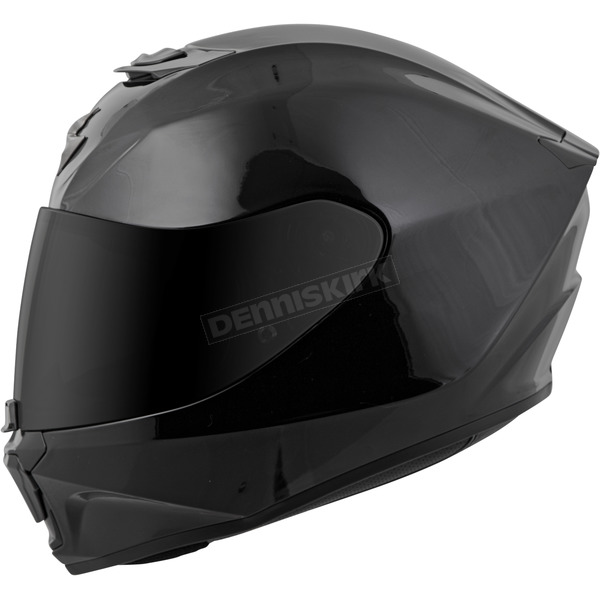 Scorpion Black EXO-R420 Helmet - 42-0034