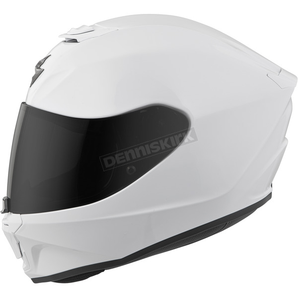Scorpion White EXO-R420 Helmet - 42-0052