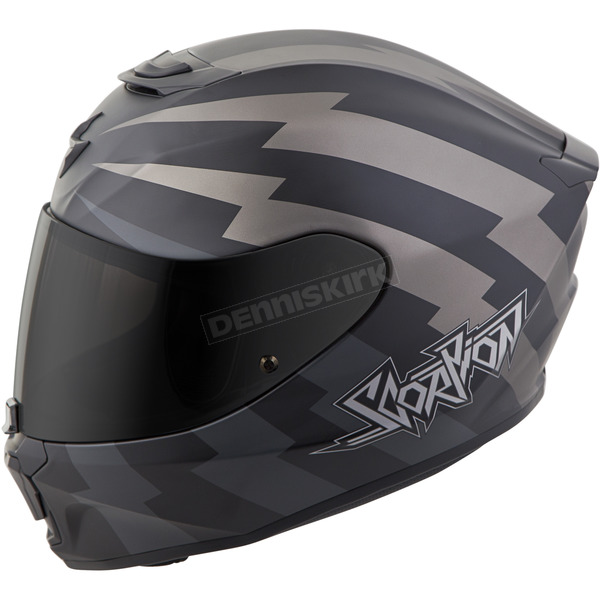 Scorpion Black EXO-R420 Tracker Helmet - 42-1116
