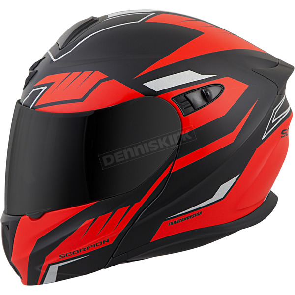 Scorpion Black/Red EXO-GT920 Shuttle Helmet - 92-1536