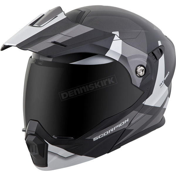 Scorpion Silver EXO-AT950 Snow Helmet - 95-1056-SD