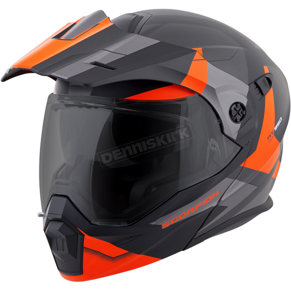 Scorpion Orange EXO-AT950 Snow Helmet - 95-1088-SD