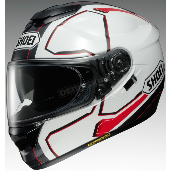 Shoei Helmets White/Red/Black GT-Air Pendulum TC-6 Helmet - 0118-2006-08