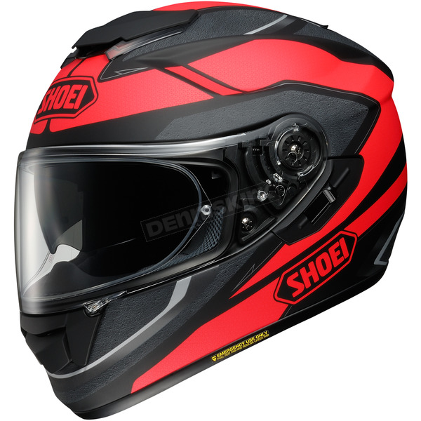 Shoei Helmets Matte Red/Black GT-Air Swayer TC-1 Helmet - 0118-2101-08
