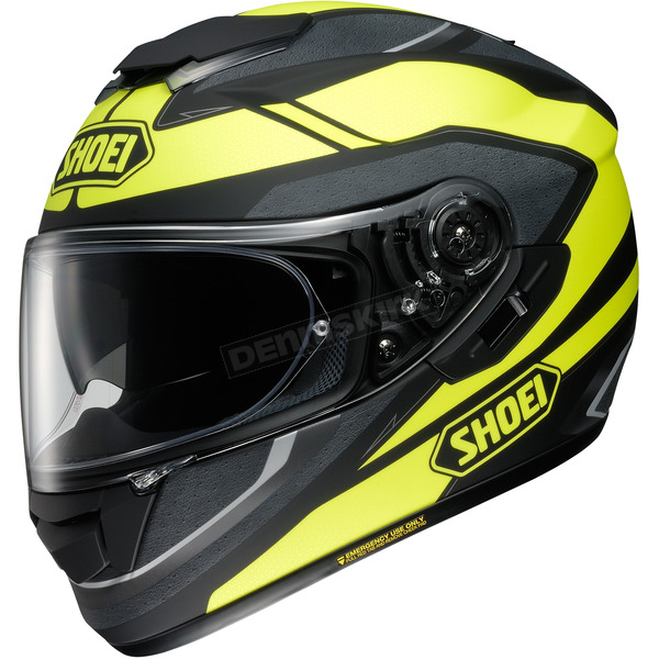 Shoei Helmets Matte Hi-Vis/Black GT-Air Swayer TC-3 Helmet - 0118-2103-08