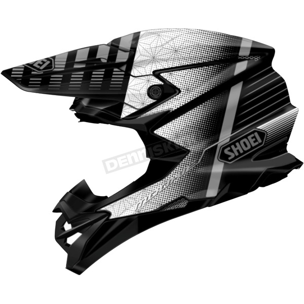 Shoei Helmets Black/Gray VFX-EVO Blazon TC-5 Helmet - 0146-1205-05