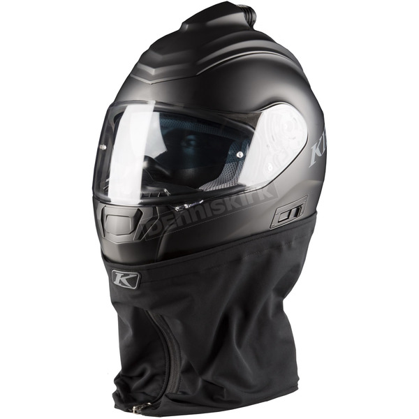 Klim Matte Black R1 Air Rally Fresh Air Helmet - 3929-001-120-001