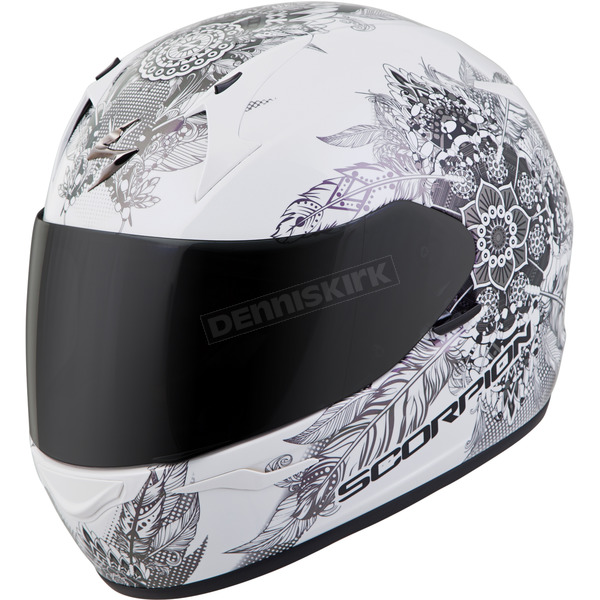 Scorpion White EXO-R320 Dream Helmet - 32-0305
