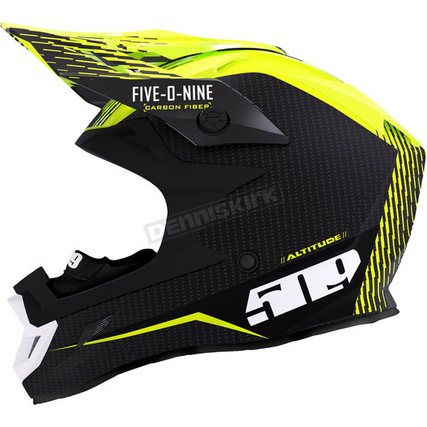 Off Grid Hi-Vis Altitude Carbon Fiber Helmet w/Fidlock Technology - F01000500-140-502