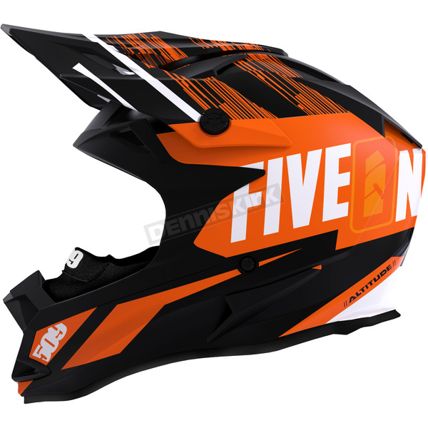 509 Particle Orange Altitude Helmet w/Fidlock Technology - F01000100-160-401