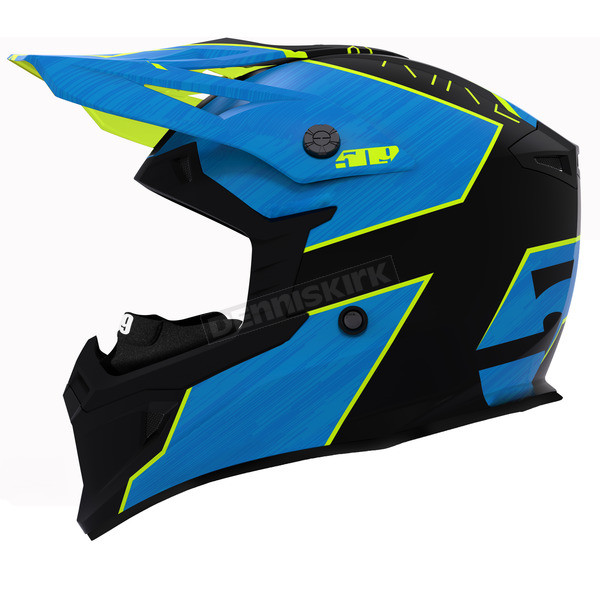 509 Hi-Vis Blue Tactical Helmet - F01001000-150-201