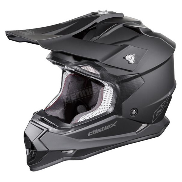 Youth Matte Black Mode MX Helmet - 35-2686