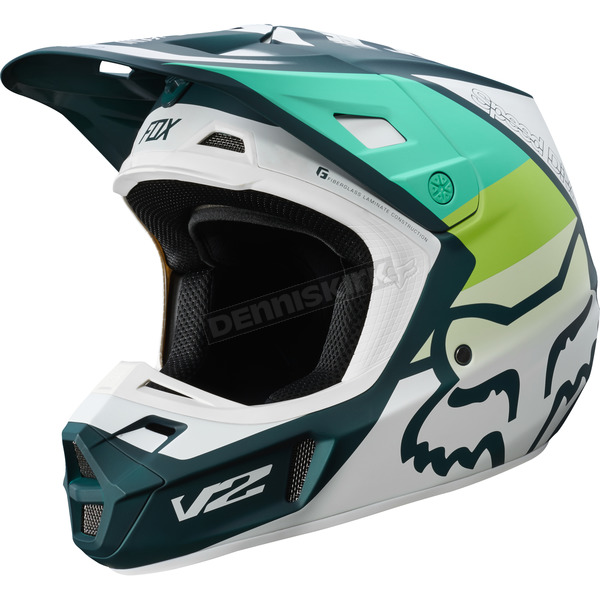 Green V2 Murc Helmet - 21769-004-XL