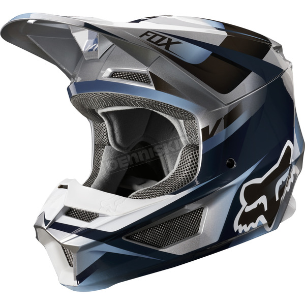Blue/Gray V1 Motif Helmet - 21775-024-XL