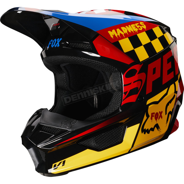 Youth Black/Yellow V1 Czar Helmet