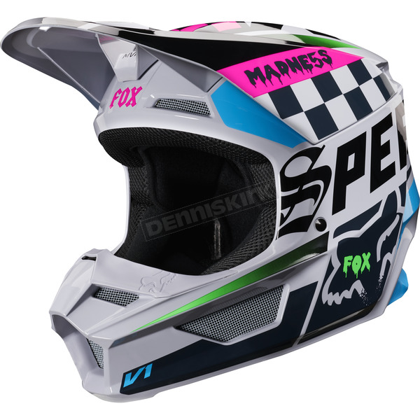 Youth Light Gray V1 Czar Helmet - 21781-097-M