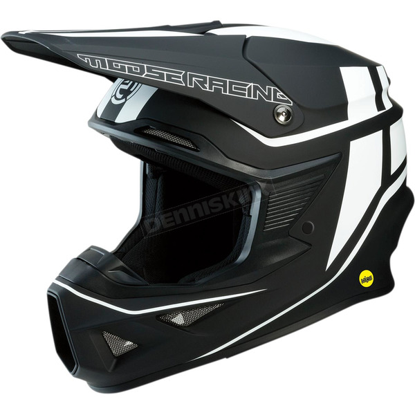 Black/White F.I. Session Helmet