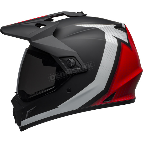 Bell Helmets Matte Black/White/Red MX-9 Adventure MIPS Switchback Helmet - 7103858
