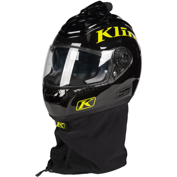 Klim Black/Lime R1 Air Punch Fresh Air Helmet - 3929-001-150-003