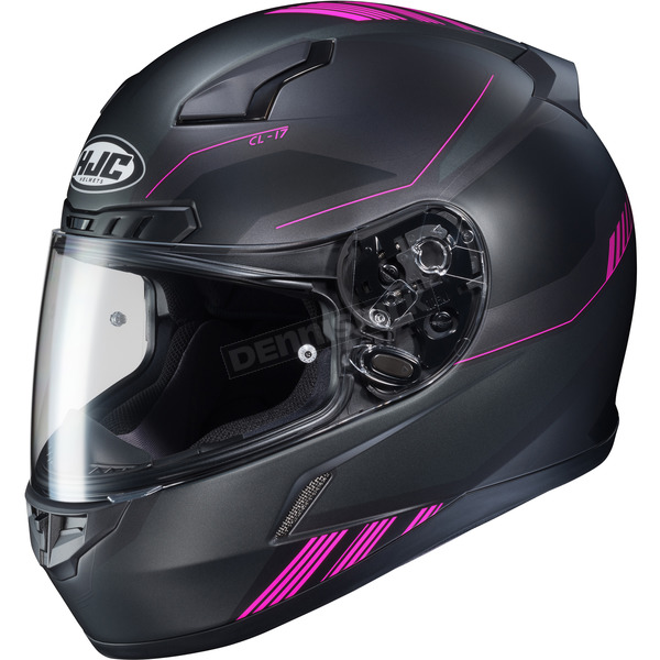 Semi-Flat Black/Pink CL-17 Combat MC-8SF Helmet - 864-783