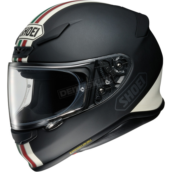 Matte Black/White/Red/Green RF-1200 Equate TC-4 Helmet