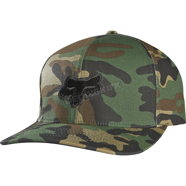 Fox Camo Legacy Flex-Fit Hat - 58225-027-S/M