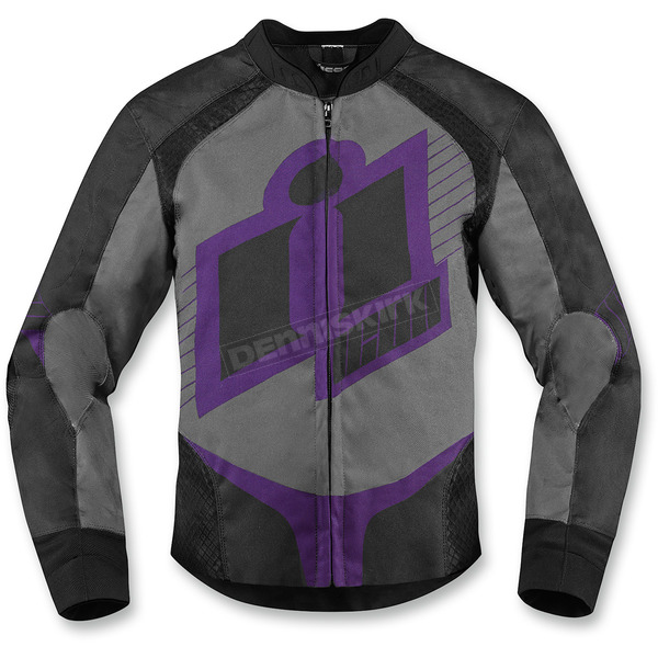 Icon Womens Purple Overlord 2 Jacket - 2822-0724