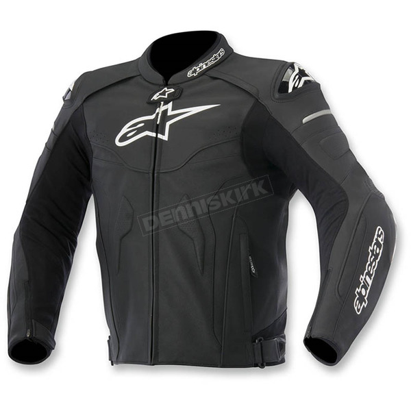 Alpinestars Black Celer Leather Jacket - 3105015-10-60