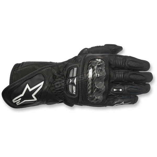 Alpinestars Women's Black Stella SP-1 Leather Gloves - 3518115-10-M