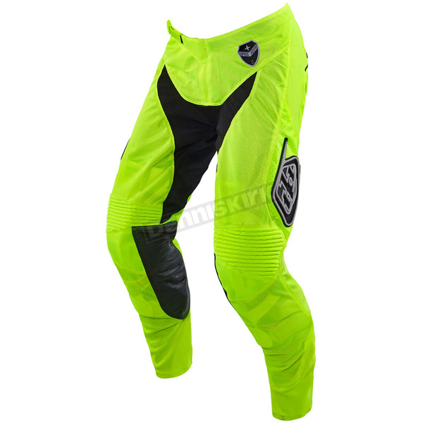 Troy Lee Designs Youth Fluorescent Yellow/Black Starburst GP Air Pants - 206013527
