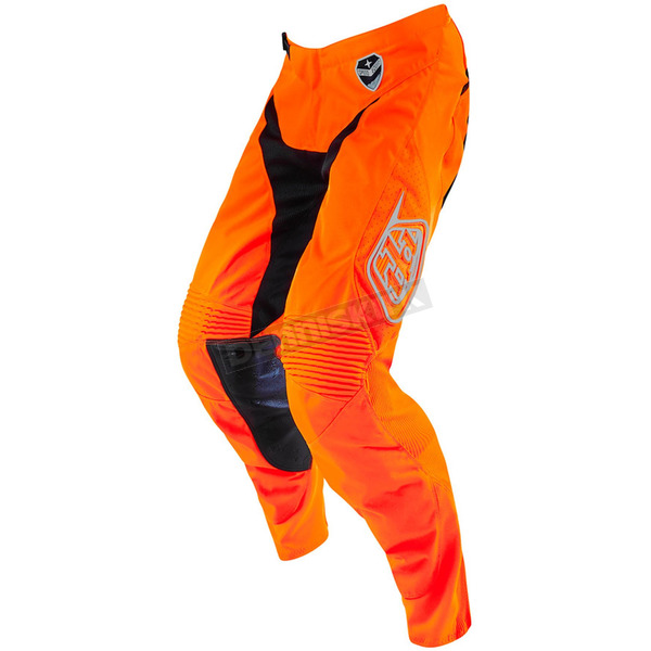 Troy Lee Designs Youth Fluorescent Orange/Black Starburst GP Air Pants - 206013727