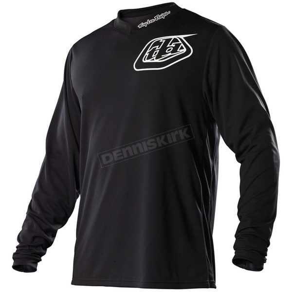 Troy Lee Designs Youth Black Midnight GP Jersey - 309002203