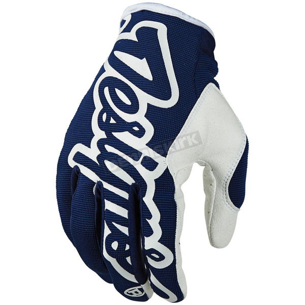 Troy Lee Designs Navy Blue/White Pro Glove - 401003302