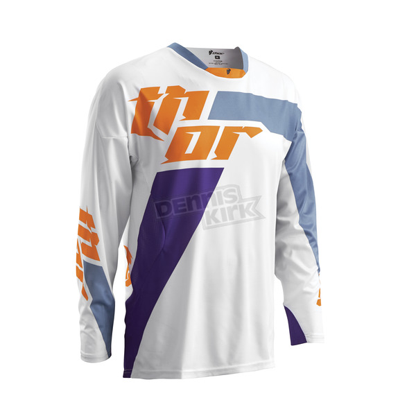 Thor White/Purple Core Merge Jersey - 2910-3460