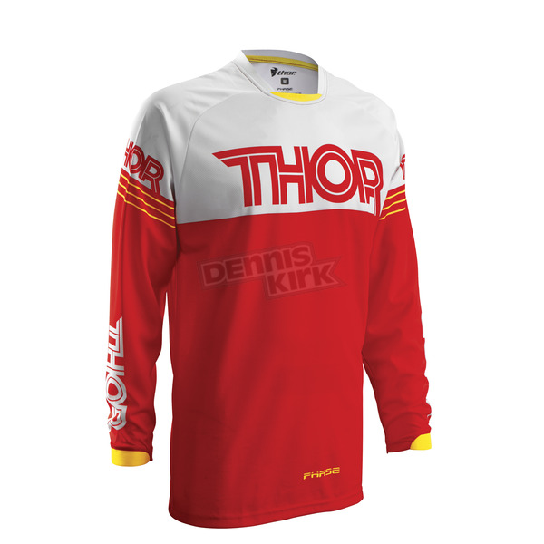Thor Red/White Phase Hyperion Jersey - 2910-3510