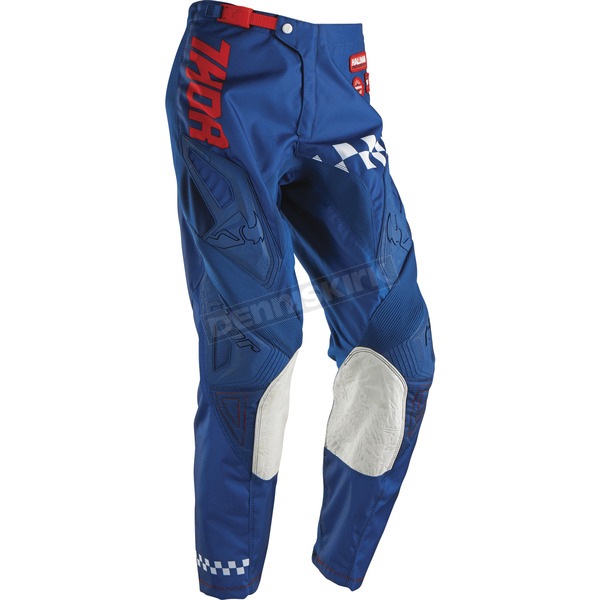 Thor Youth Navy/Red Phase Ramble Pants - 2903-1339