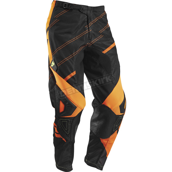 Thor Youth Black/Fluorescent Phase Vented Doppler Pants - 2903-1345
