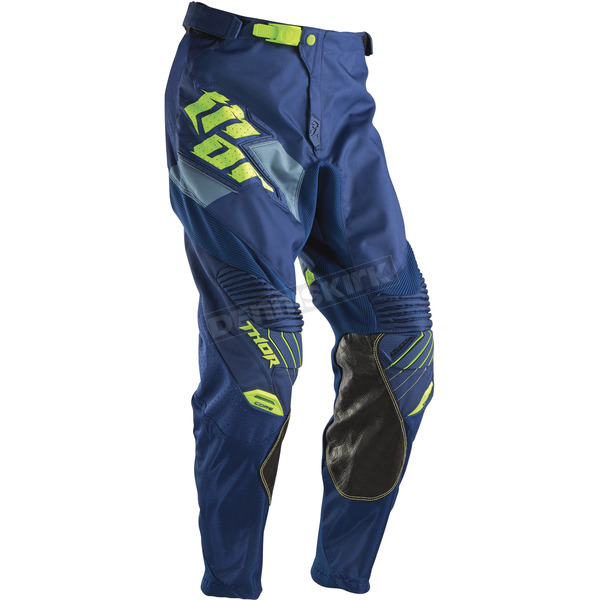 Thor Navy/Lime Core Merge Pants - 2901-5175