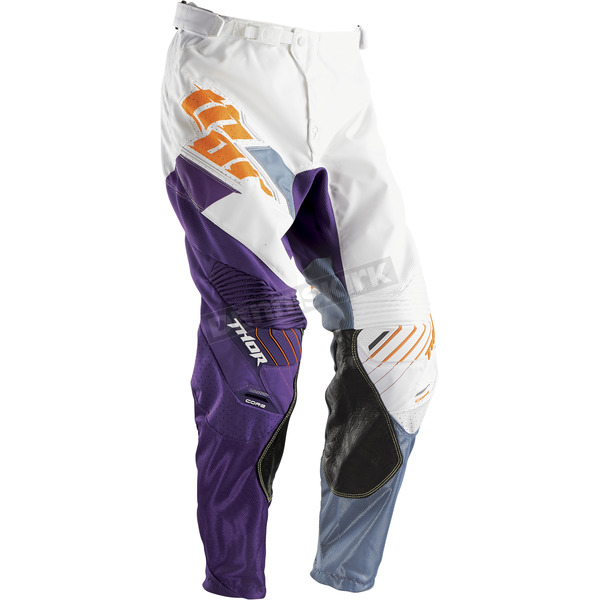 Thor White/Purple Core Merge Pants - 2901-5186