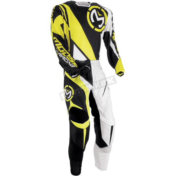 Moose Youth Hi Viz Yellow M1 Pants - 2903-1376