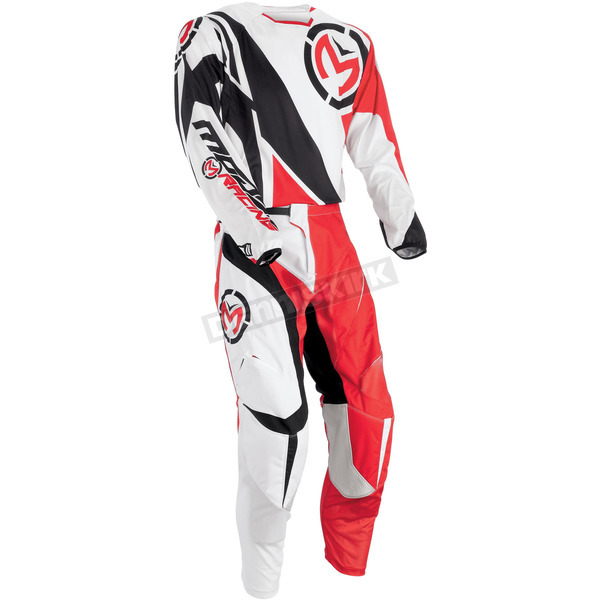 Moose Red/Black M1 Pants - 2901-5491